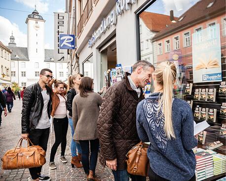 Shopping in Bad Mergentheim
